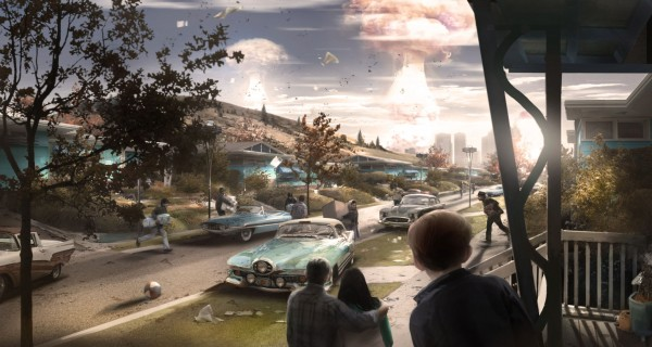 Fallout 4 When the bomb drops Wallpaper