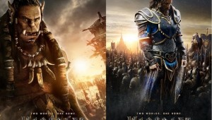 Warcraft Movie Humans Orcs Poster