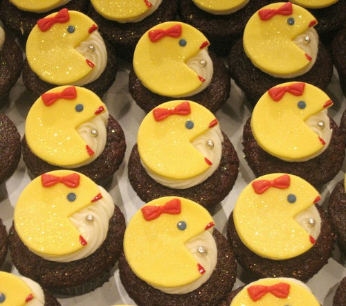 Ms. Pacman Cupcake