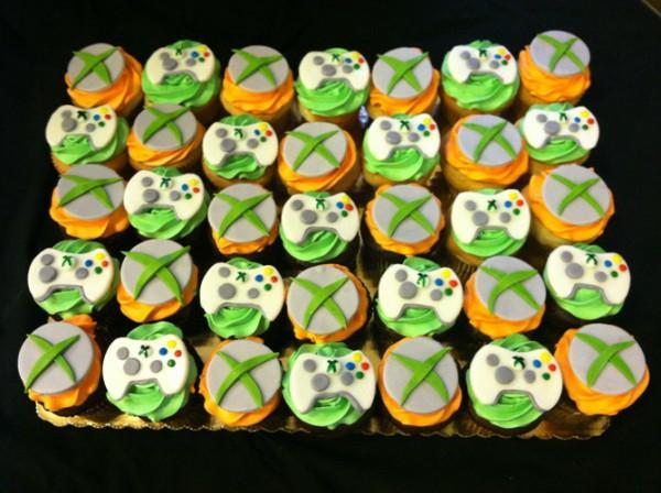 Xbox Cupcake