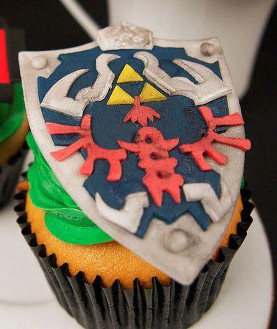 Zelda Cupcake