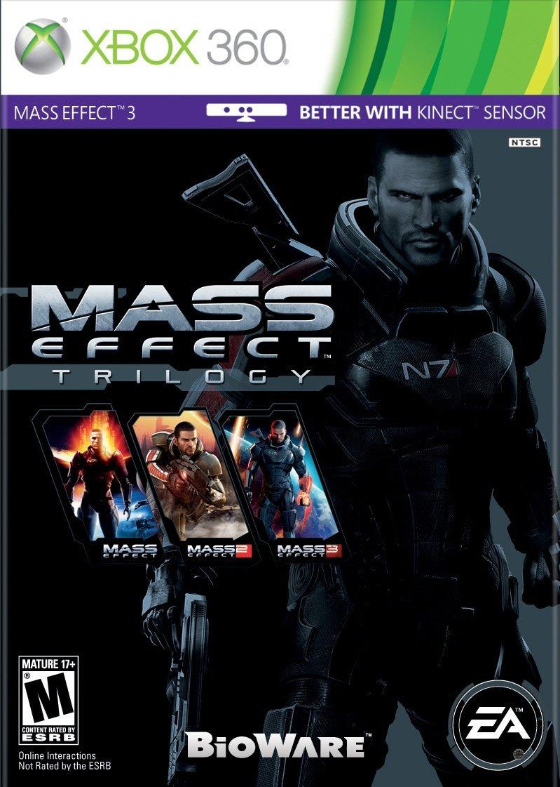 Mass Effect Trilogy Video Games