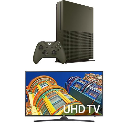 Samsung 55-Inch 4k LED LED HD Smart TV & Xbox One 1TB Battlefield 1 Special Edition Bundle