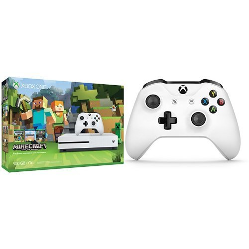 Xbox One S 500GB Minecraft + Extra Controller Bundle
