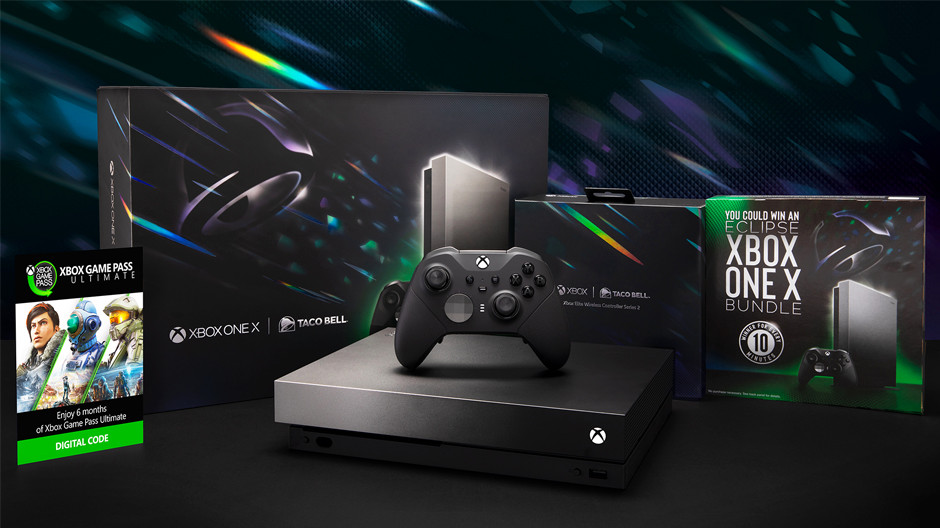 Taco Bell and Xbox launch a bundle