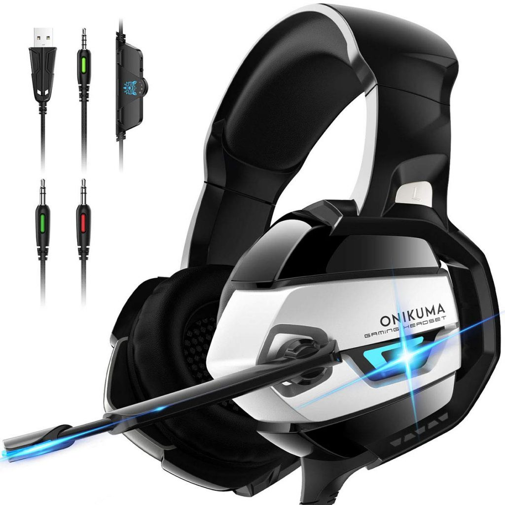 Onikuma xbox one headset with noise canceling