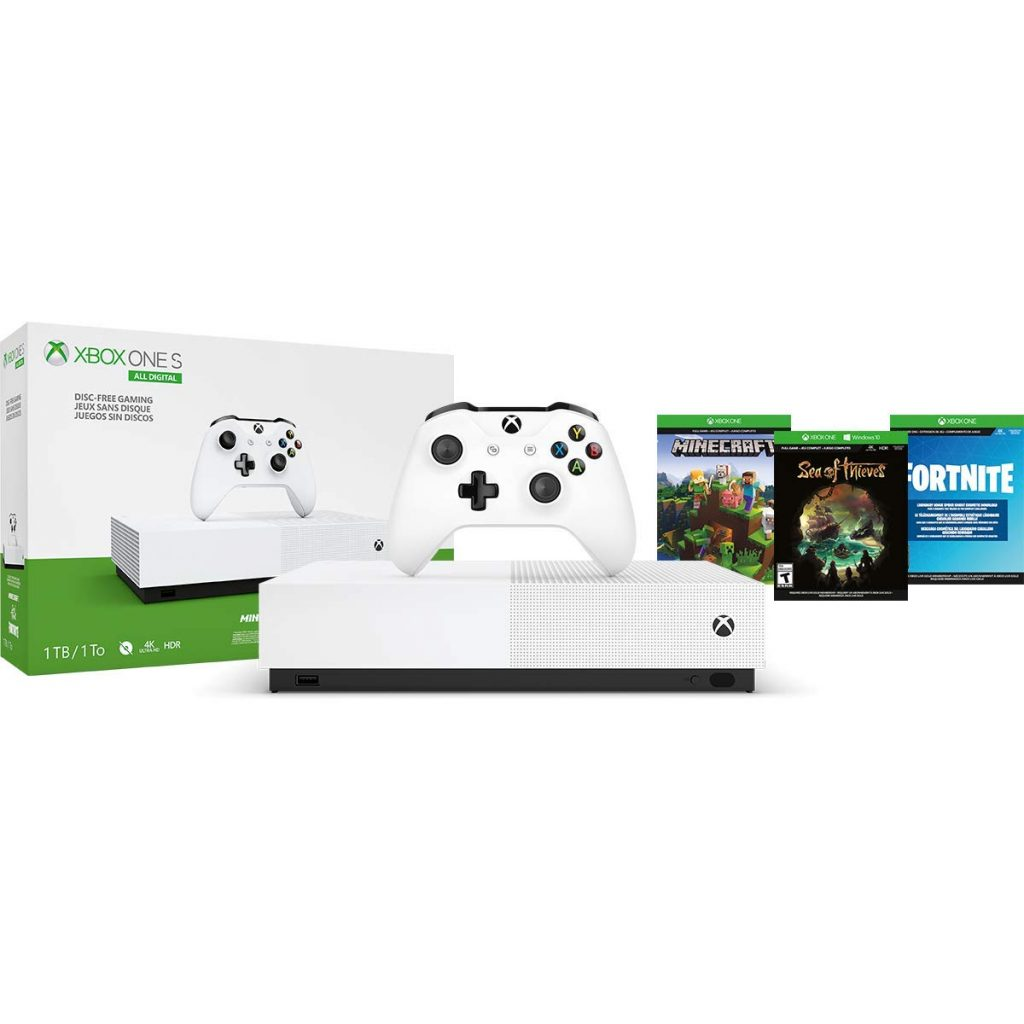 All-Digital Edition, 1TB Xbox One S Console