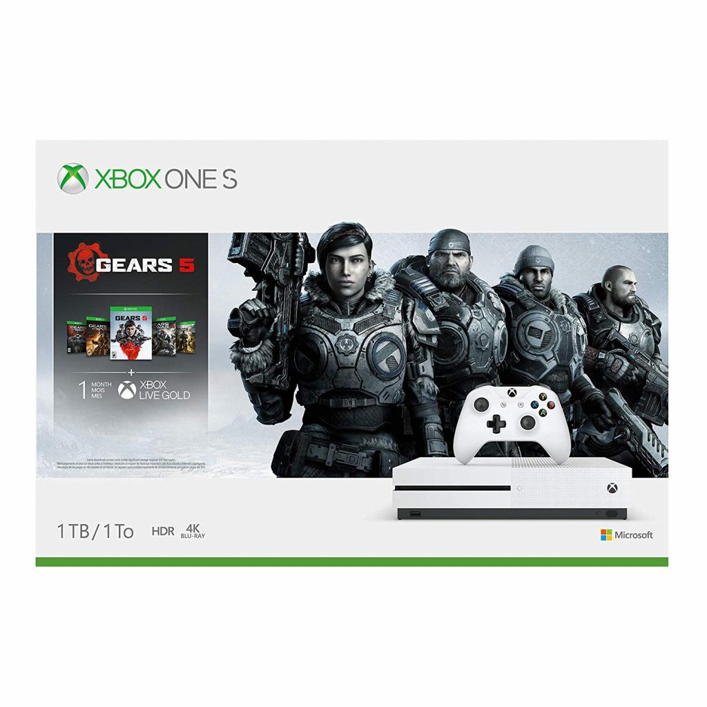 Xbox one S greats 5 xbox bundle