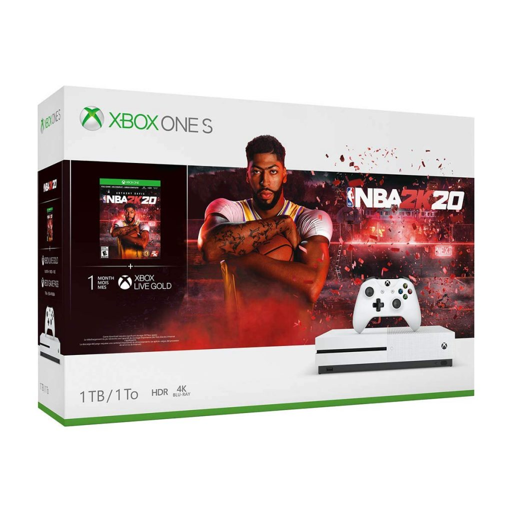 NBA 2K20 Bundle of Xbox One S