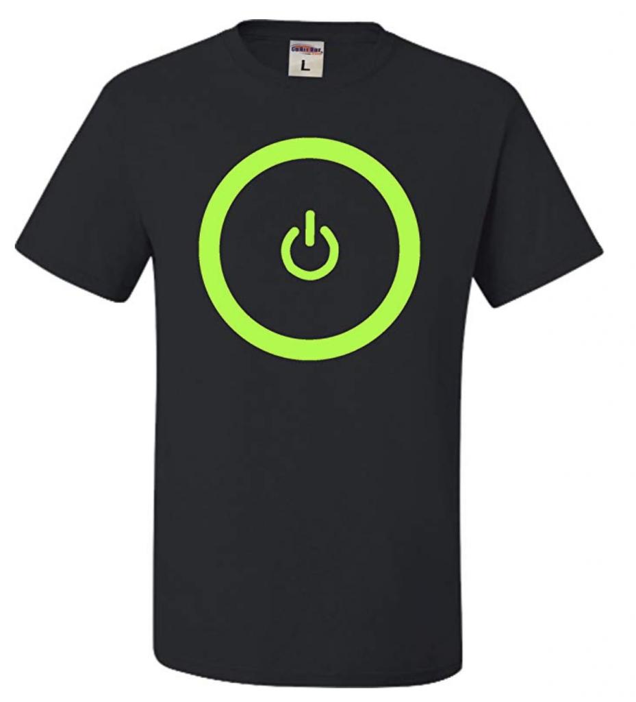 power video game shirt