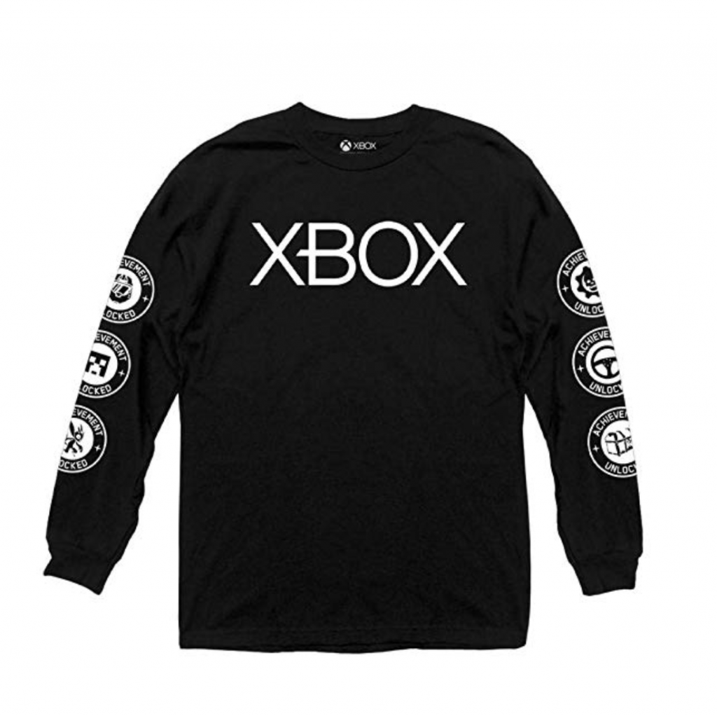 xbox black long sleeve shirt